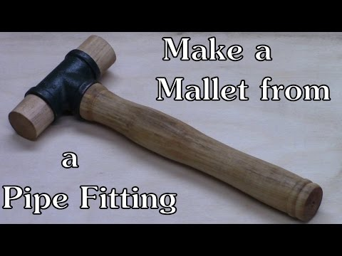 Make a Mallet From a Pipe Tee