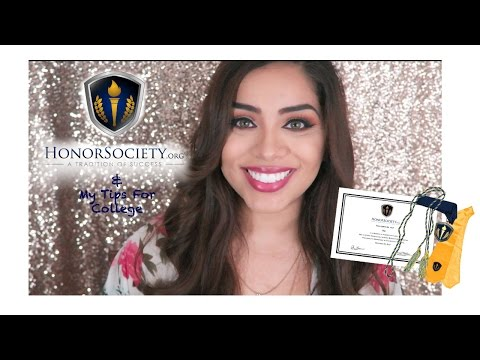 HonorSociety.org & My Tips For College