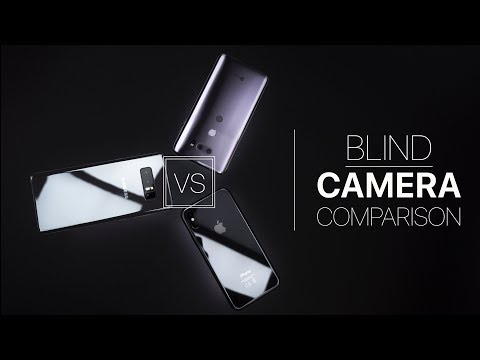 Blind Camera Comparison! iPhone X vs Note 8 vs V30