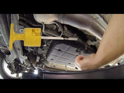 how do u check the transmission oil? Mercedes Benz GLK 350
