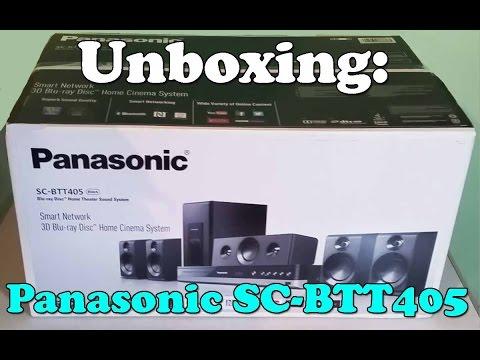 Unboxing: Panasonic SC-BTT405EBK Blu-ray 5.1 Surround Sound System