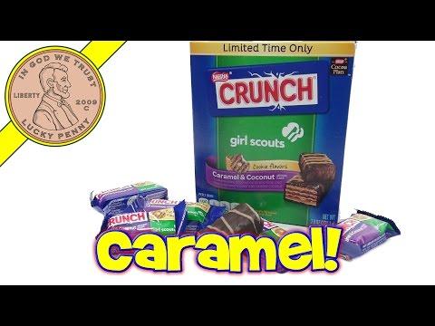 Girl Scouts Caramel & Coconut Crunch Bars, Samoa or deLights?