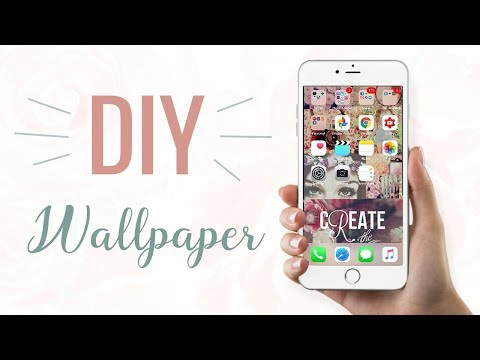 How To Make Custom iPhone/Android Wallpaper! ♡ Easy Tutorials with Reina | Reina Gulle
