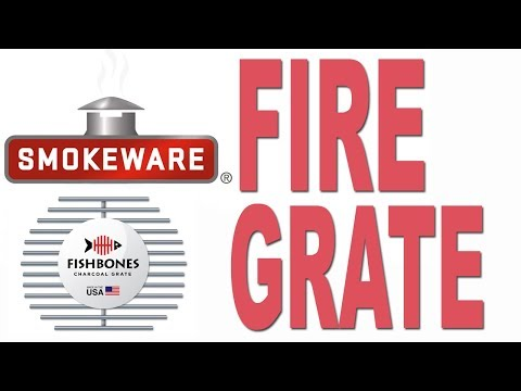 Smokeware's Fire Grate for the Big Green Egg