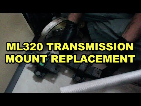 Mercedes-Benz ML320 Transmission Mount Replacement (W163)