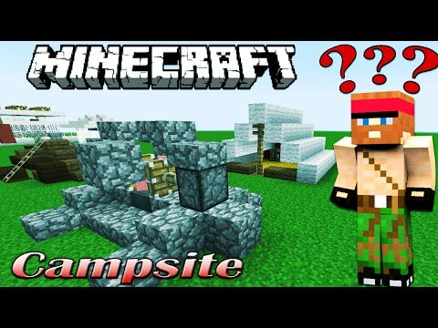 Minecraft: CAMPSITE [Interactive Building #06]