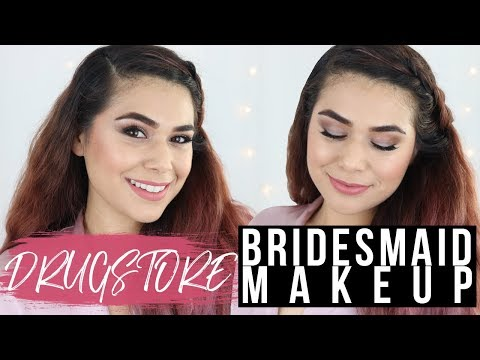 DRUGSTORE BRIDESMAIDS MAKEUP TUTORIAL (Full Face)