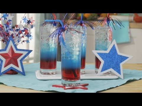 How to Make a Patriotic Layered Drink