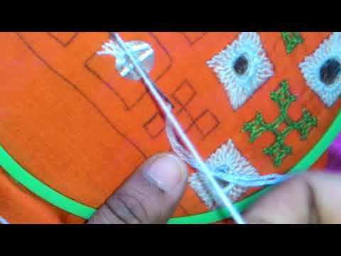 24.Sindhi embroidery,sindhi tanka,kutch work,gujrati stitch border design pettern