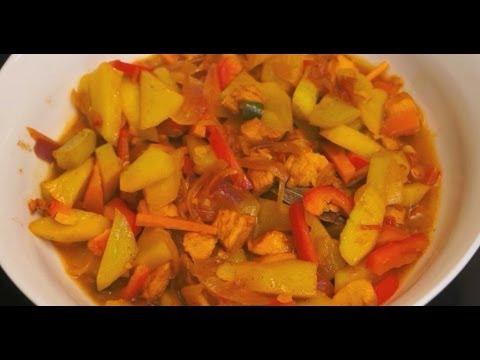 Paano magluto Ginisang Sayote Manok Recipe Pinoy Filipino chicken Tagalog