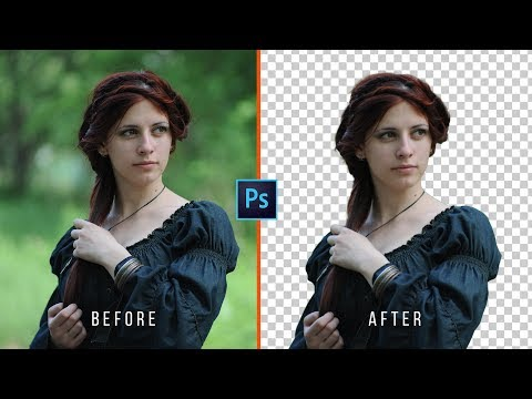 How to Change Background in Photoshop CC (Transparent)
