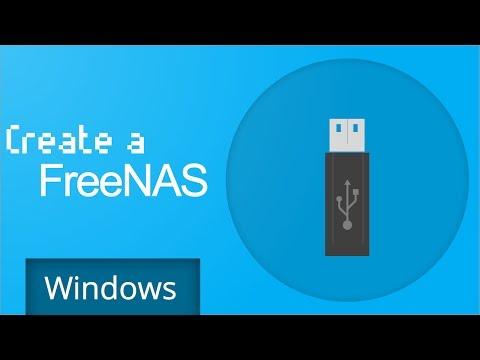 Freenas 9.3 - Create a Bootable USB (Windows)
