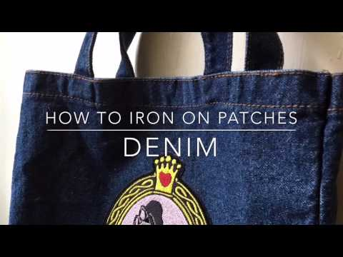 How To Iron On A Patch To Denim