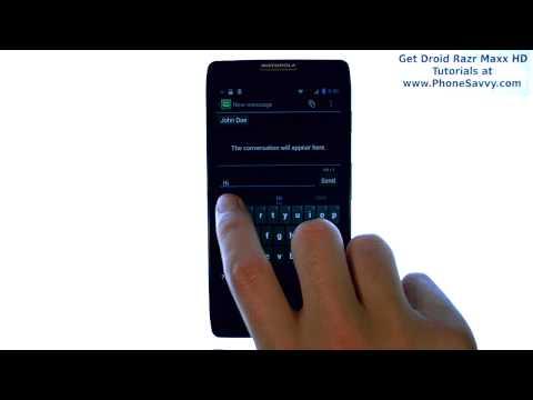 Motorola Droid Razr Maxx HD - How Do I Send a Picture Message