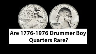 Are Drummer Boy Quarters 1776 1976 Rare And Valuable? Drummer boy Quarter Value