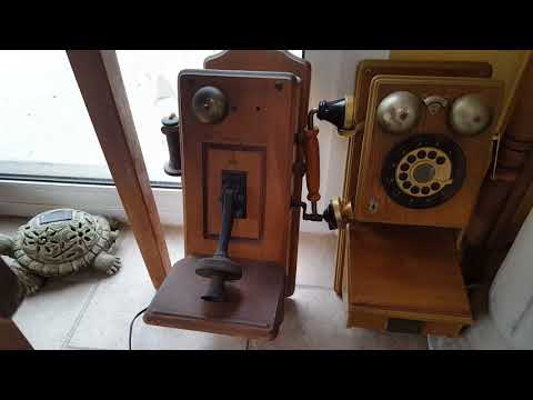 Some Of The Old Telephone Collection.
