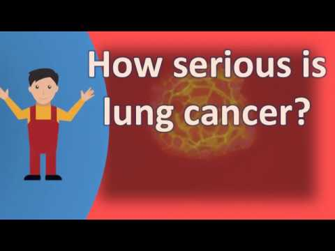 How serious is lung cancer ? |Frequently ask Questions on Health