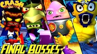 Evolution Of Final Bosses In Crash Bandicoot Games (1996-2016)