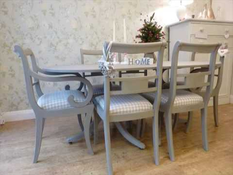 Painted Dining Table and Chairs Design UK