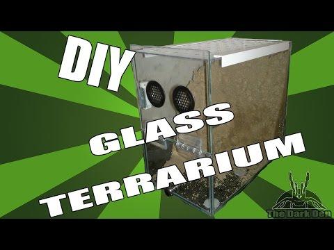 DIY: How to make a glass terrarium / vivarium / enclosure