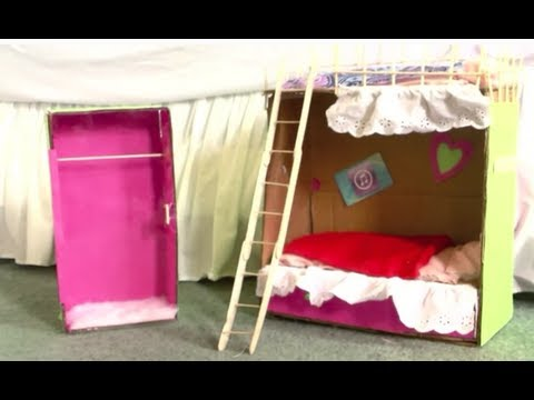 How to Make Doll Bunk-Beds