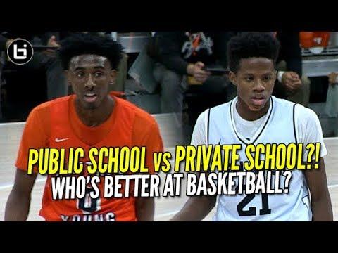 Top Public vs Top Private?! Javon Freeman (Whitney Young) vs DJ Steward (Fenwick) Like Mike!