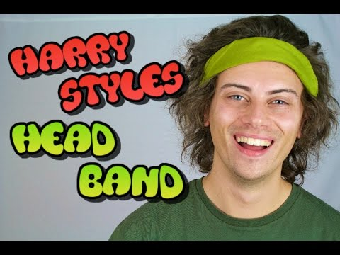 How To Wear HARRY STYLES Headband..!  |  ANDY BRADLEY