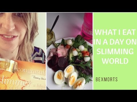 WHAT I EAT IN A DAY ON SLIMMING WORLD #1