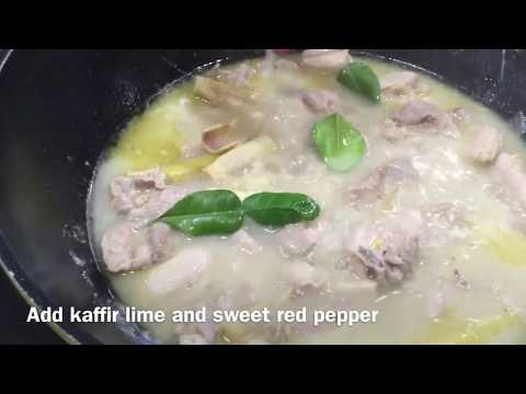 Lola Nora's Ginataang Manok - Filipino chicken with coconut milk