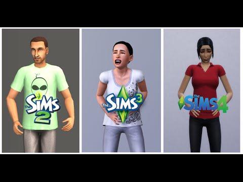 ♦ Sims 2 vs Sims 3 vs Sims 4 : Life (Part 1)