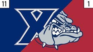11 Xavier vs. 1 Gonzaga Prediction | Who