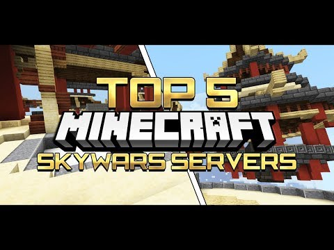 [1.2.10+] TOP 5 SKYWARS SERVERS in Minecraft! [Pocket Edition, Xbox, Win10]