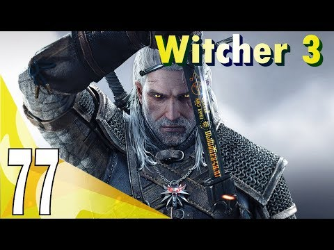 The Witcher 3 The Wild Hunt (Deathmarch) Walkthrough - Hallowed Horn | Part 77