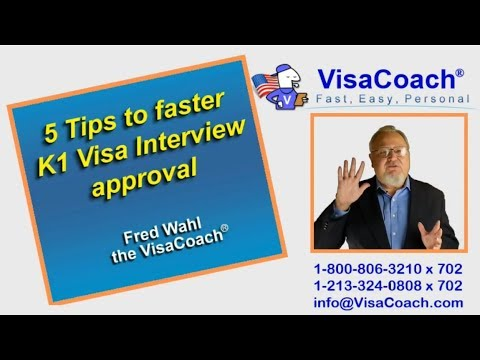5 Tips to faster K1 Visa Interview approval k154