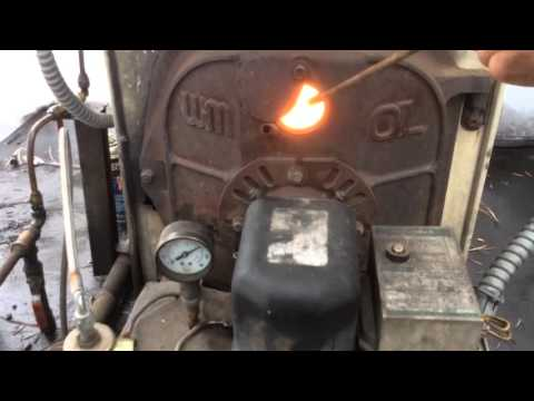 Beckett  Burner Used Waste Oil Conversion Automatic System Heating