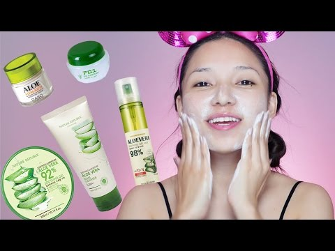 All products made with Aloevera? Super Cheap + Effect