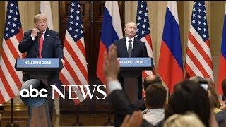Trump-Putin news conference sends shockwaves around the world