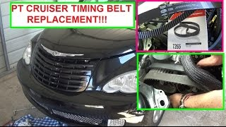 Chrysler Pt Cruiser Timing Belt Replacement 24 Engine How To Replace