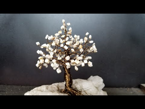 DIY Wire Tree of Life Sculpture