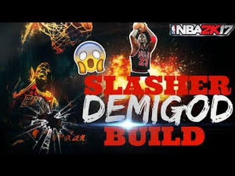 NBA 2K17-The Best Slasher Build