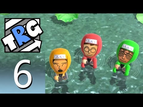 Wii Party U – Minigame Mode 6: 1-vs-3 Minigame Free Play