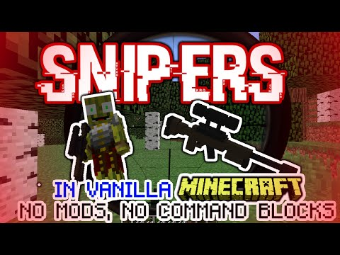 Minecraft: Sniper Resource Pack (No Mods/No Command Blocks!)