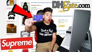 BUYING HYPEBEAST ITEMS FROM DHGATE! (GUCCI, SUPREME, YEEZYS)