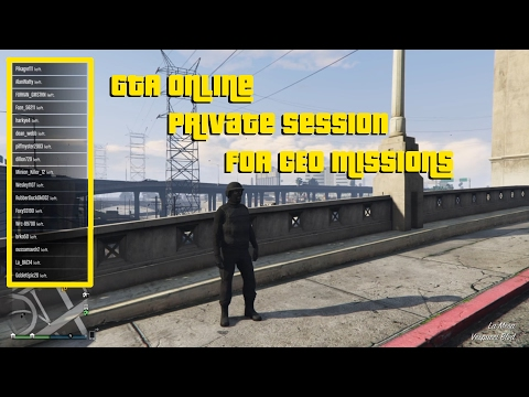 How to play missions on gta 5 online with friends -