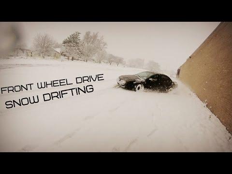 FRONT WHEEL DRIVE SNOW DRIFTING