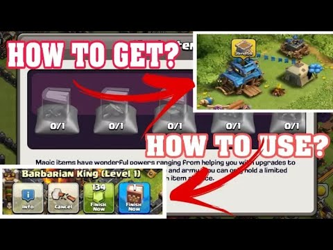 How to use magic spells & books || CLASH OF CLANS || Real use of spells