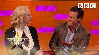 Friends cast too powerful for Luke Evans - The Graham Norton Show - BBC