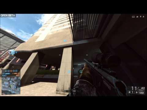 PC Battlefield 4 Beta - Sniper / Recon Gameplay - 7850 Crossfire HD 1080p Ultra