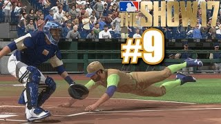 PLAYING THE SLAPPERS! | MLB The Show 17 | Diamond Dynasty #9