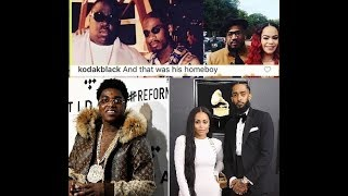 Kodak Black Compares his comment on Nipsey Hussle Fiance to Notorious BIG / Stevie J Marrying Faith